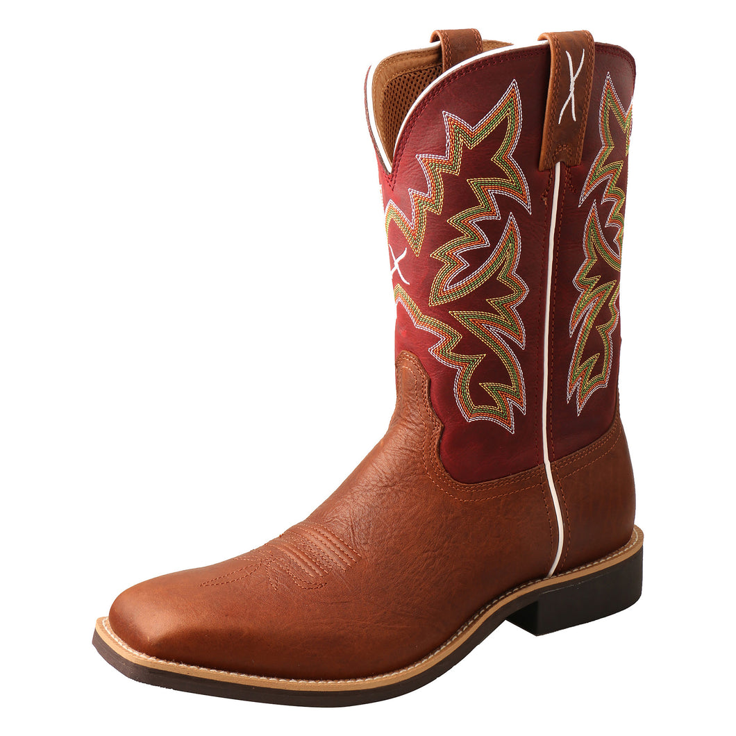Picture of front outside of Men's Twisted X Top Hand Boot MTH0027