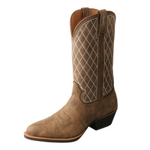Load image into Gallery viewer, Picture of front outside of Men's Twisted X Western Boot MWT0024