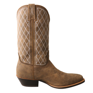 Picture of heel of Men's Twisted X Western Boot MWT0024