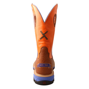 Picture of inside of Men's Twisted X CellStretch Work Boot MXBA003
