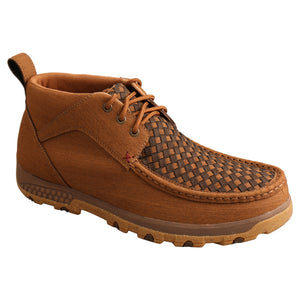 Picture of front inside of Men's Twisted X CellStretch Chukka Driving Moc MXC0012