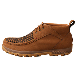 Picture of front of Men's Twisted X CellStretch Chukka Driving Moc MXC0012