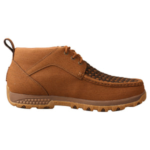 Picture of heel of Men's Twisted X CellStretch Chukka Driving Moc MXC0012