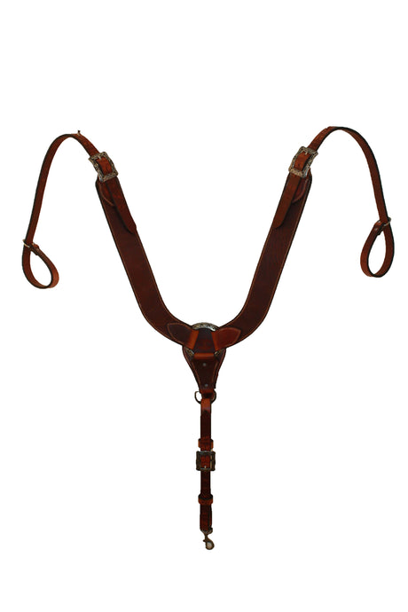 Picture of C&L Pulling Collar w/square Jeremiah Watt Buckles PC000001