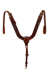 Picture of C&L Pulling Collar w/oval Jeremiah Watt Buckles PC000002