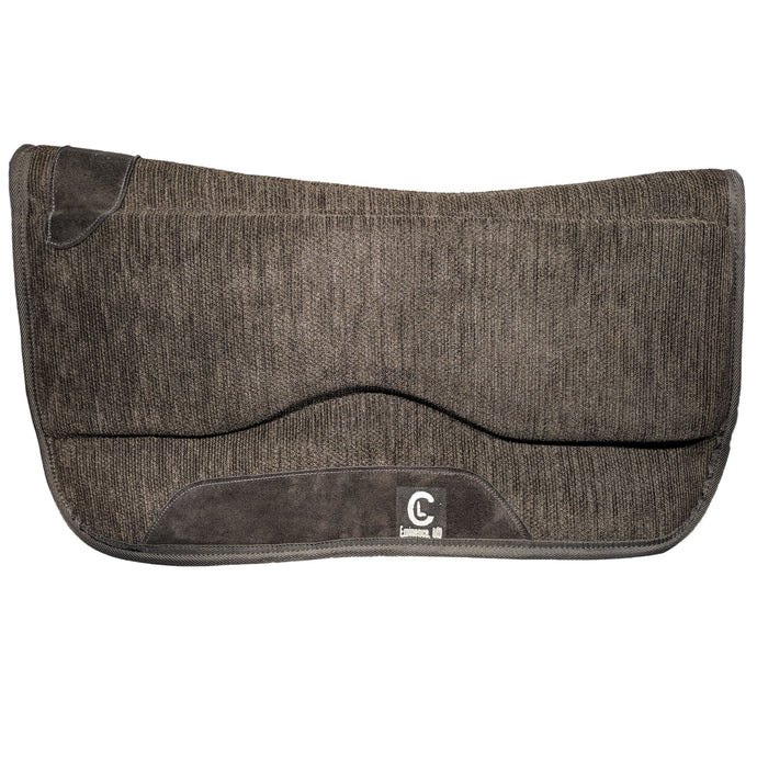 Picture of C&L Black Spinal Relief Saddle Pad SP000003