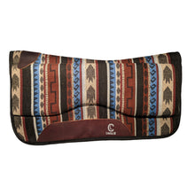 Load image into Gallery viewer, Picture of C&L Aztec Spinal Relief Saddle Pad SP000006