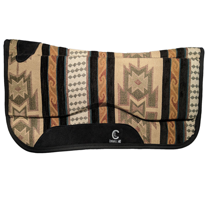 Picture of C&L Aztec Spinal Relief Saddle Pad SP000007