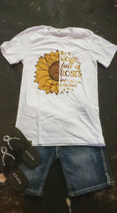 In A World Of Roses Graphic T-Shirt
