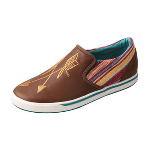 Picture of front outside of Women's Twisted X Slip-On Sneaker WCA0020