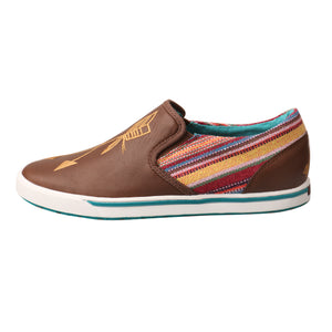 Picture of front of Women's Twisted X Slip-On Sneaker WCA0020