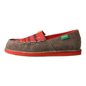 Picture of front of Women's Twisted X Slip-On Loafer WCL0011