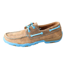 Load image into Gallery viewer, Picture of front of Women's Twisted X Boat Shoe Driving Moc WDM0019
