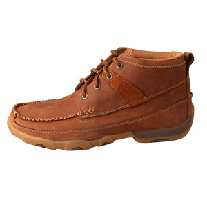 Picture of front of Women's Twisted X Chukka Driving Moc WDM0031