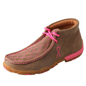 Picture of front outside of Women's Twisted X TETWP Chukka Driving Moc WDM0037