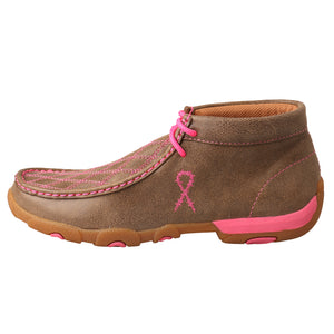 Picture of front of Women's Twisted X TETWP Chukka Driving Moc WDM0037