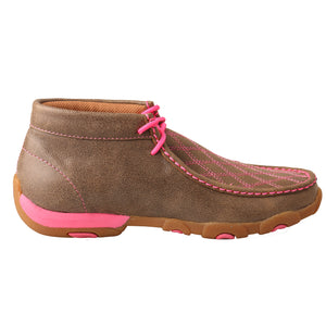 Picture of heel of Women's Twisted X TETWP Chukka Driving Moc WDM0037