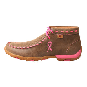Picture of front of Women's Twisted X TETWP Chukka Driving Moc WDM0051