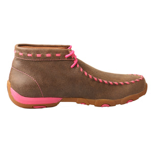Picture of heel of Women's Twisted X TETWP Chukka Driving Moc WDM0051