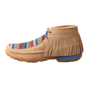Picture of front of Women's Twisted X Chukka Driving Moc WDM0064