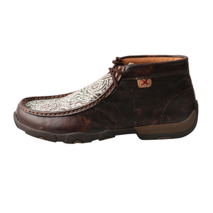 Picture of front of Women's Twisted X Chukka Driving Moc WDM0078