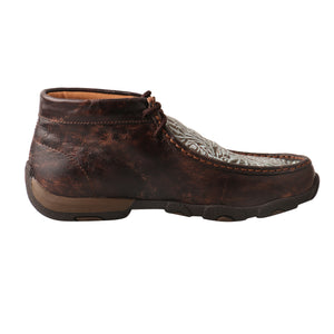 Picture of heel of Women's Twisted X Chukka Driving Moc WDM0078
