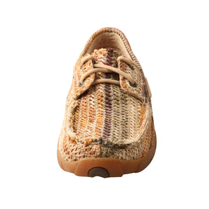 Picture of outside of Women's Twisted X Boat Shoe Driving Moc WDM0084