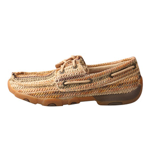 Picture of front of Women's Twisted X Boat Shoe Driving Moc WDM0084