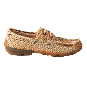 Picture of heel of Women's Twisted X Boat Shoe Driving Moc WDM0084
