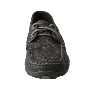 Picture of outside of Women's Twisted X Boat Shoe Driving Moc WDM0088