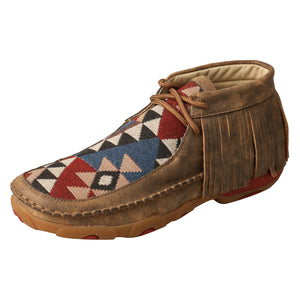 Picture of front outside of Women's Twisted X Chukka Driving Moc WDM0090