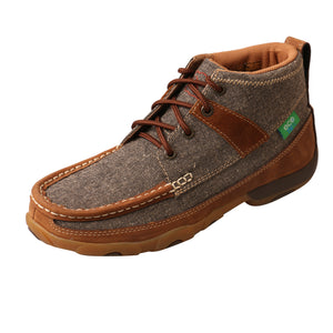 Picture of front outside of Women's Twisted X Chukka Driving Moc WDM0094