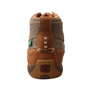 Picture of inside of Women's Twisted X Chukka Driving Moc WDM0094