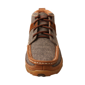 Picture of outside of Women's Twisted X Chukka Driving Moc WDM0094