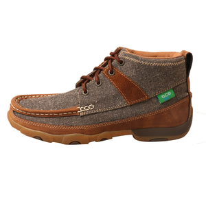 Picture of front of Women's Twisted X Chukka Driving Moc WDM0094