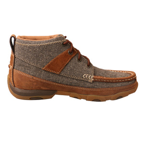 Picture of heel of Women's Twisted X Chukka Driving Moc WDM0094