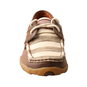 Picture of outside of Women's Twisted X VFW Boat Shoe Driving Moc WDM0100