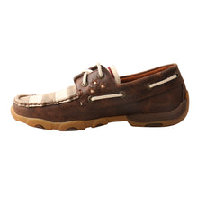 Load image into Gallery viewer, Picture of heel of Women's Twisted X VFW Boat Shoe Driving Moc WDM0100
