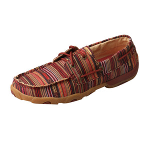 Picture of front outside of Women's Twisted X Boat Shoe Driving Moc WDM0103