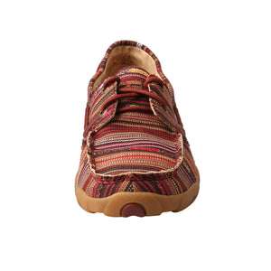 Picture of outside of Women's Twisted X Boat Shoe Driving Moc WDM0103
