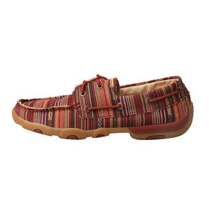 Picture of front of Women's Twisted X Boat Shoe Driving Moc WDM0103