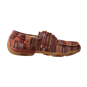 Picture of heel of Women's Twisted X Boat Shoe Driving Moc WDM0103