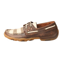Load image into Gallery viewer, Picture of front of Women's Twisted X VFW Boat Shoe Driving Moc WDM0109