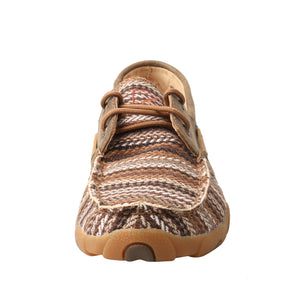 Picture of outside of Women's Twisted X Boat Shoe Driving Moc WDM0114