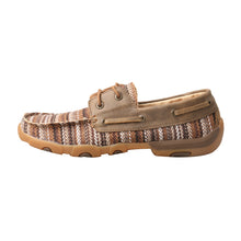 Load image into Gallery viewer, Picture of front of Women's Twisted X Boat Shoe Driving Moc WDM0114