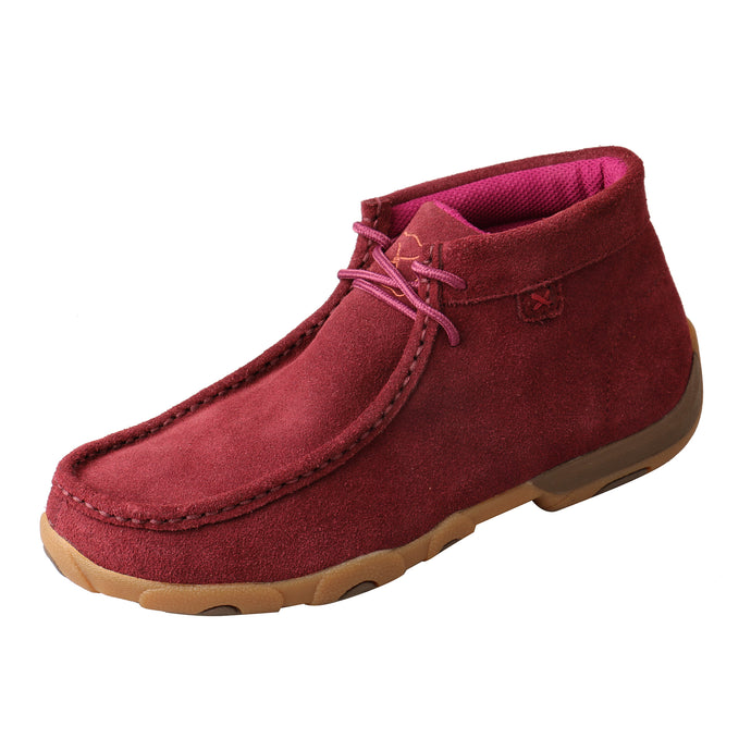 Picture of front outside of Women's Twisted X Chukka Driving Moc WDM0122