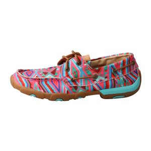Picture of front of Women's Twisted X TETWP Boat Shoe Driving Moc WDM0123