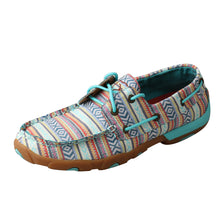 Load image into Gallery viewer, Picture of front outside of Women's Twisted X Boat Shoe Driving Moc WDM0124
