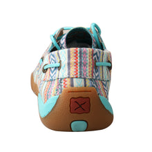 Load image into Gallery viewer, Picture of inside of Women's Twisted X Boat Shoe Driving Moc WDM0124