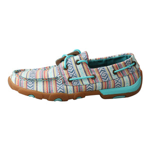 Picture of front of Women's Twisted X Boat Shoe Driving Moc WDM0124